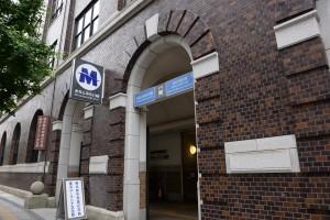 1.みなとみらい線日本大通り駅3番出口を出ます